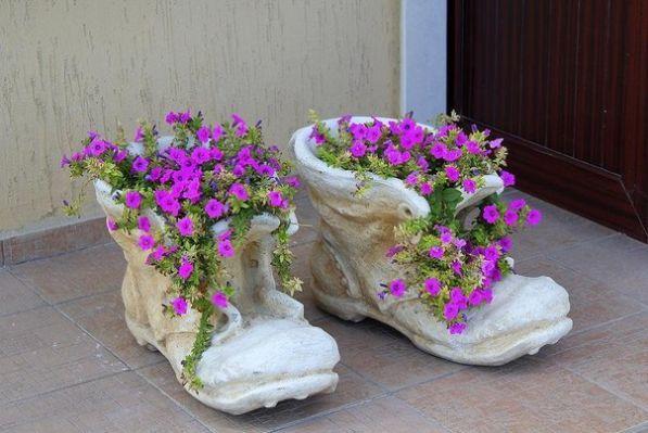 Кашпо для цветов на улицу фото