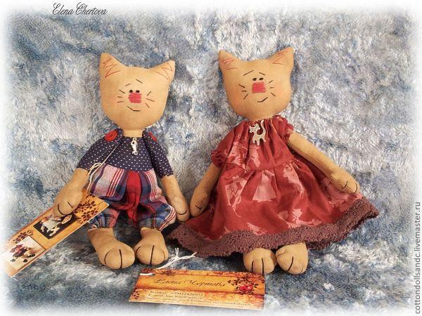 Животные и куклы из ткани своими руками 15